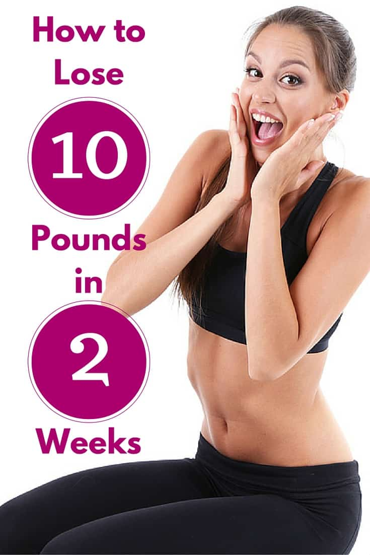 How to Lose 10 Pounds in 2 Weeks Guaranteed