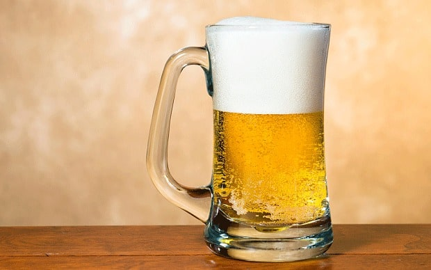 cut back on beer