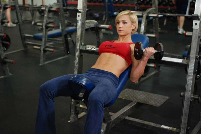 incline exercises