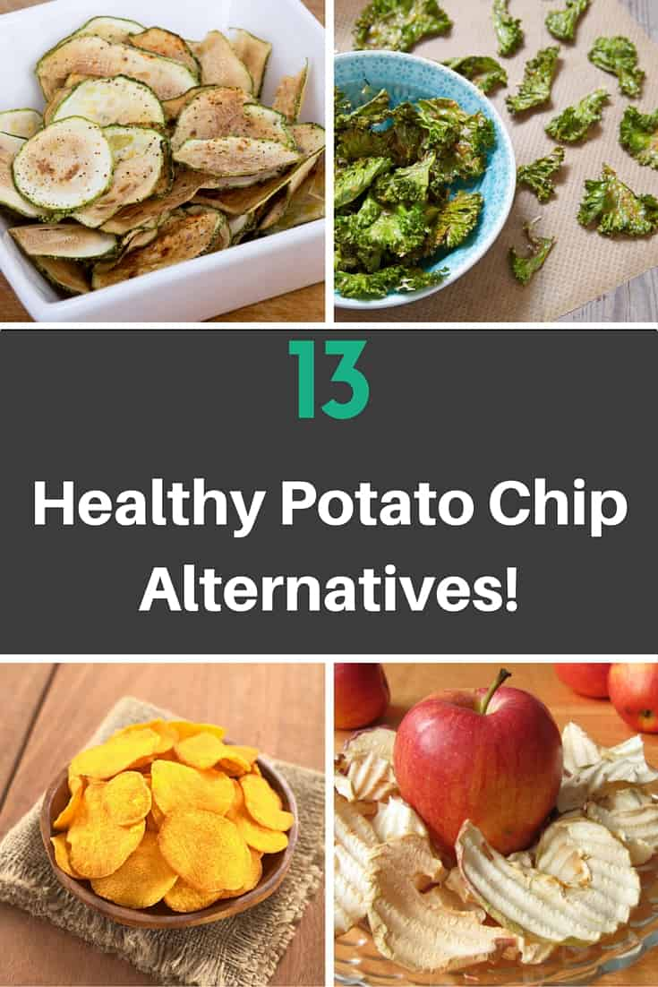 13 Healthy Alternatives to Chips - With recipes!