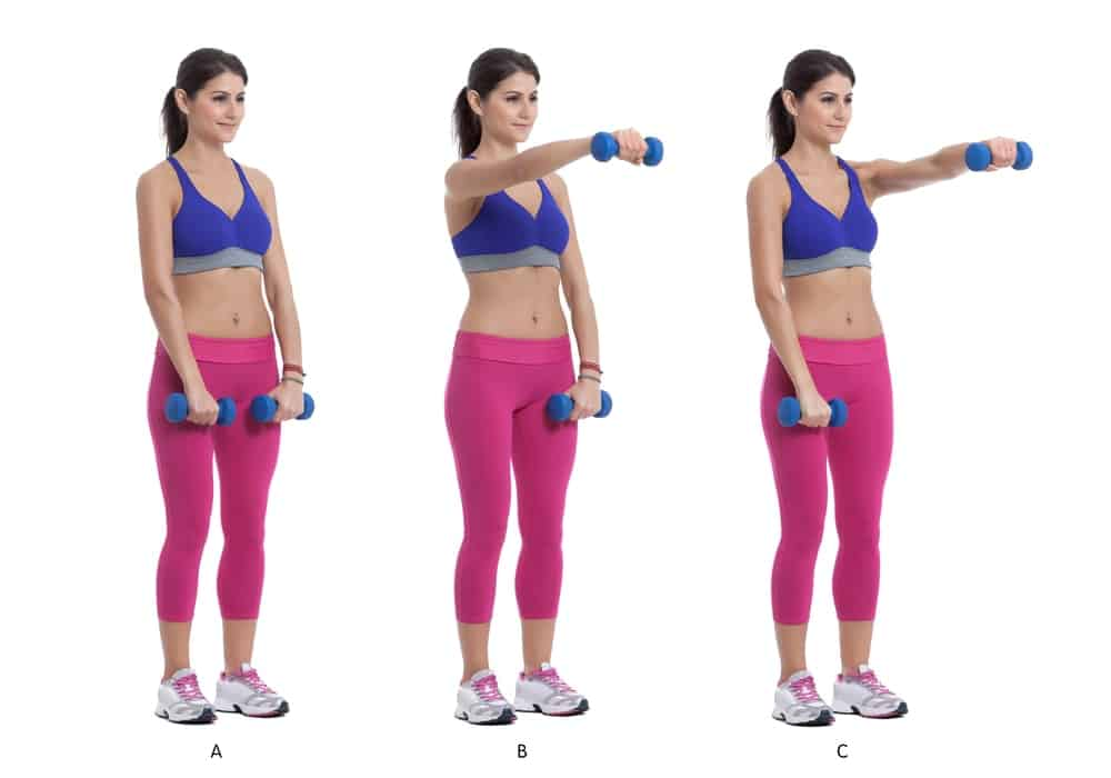 15 Arm Toning Exercises that You Can Do With Dumbells
