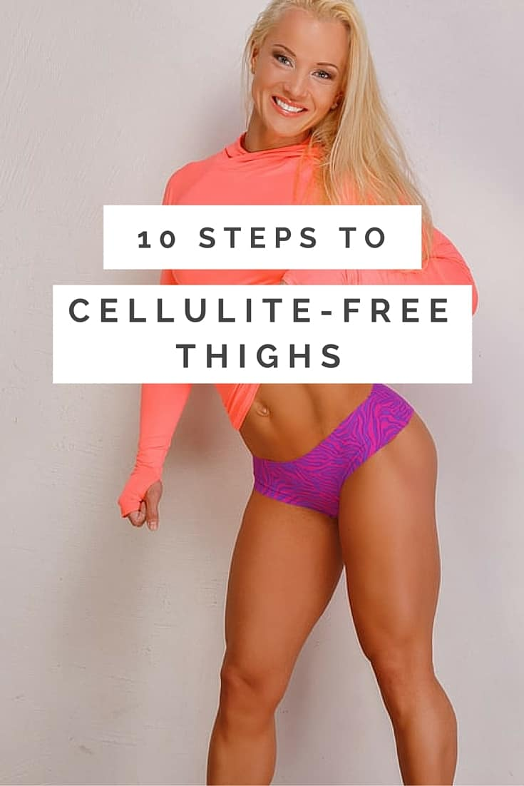 Unsightly cellulite in the upper leg and thigh region is one of the biggest concerns for women when it comes to body image. Sure enough, as with many health-related conditions, there is certainly an element of genetics when it comes to which women are more prone to cellulite than others. In saying that, just because you have a little bit of cellulite now does not mean you have to put up with it for life. You can perform a range of toning and overall fitness activities to reduce the visible nature of cellulite. Let's take a look!