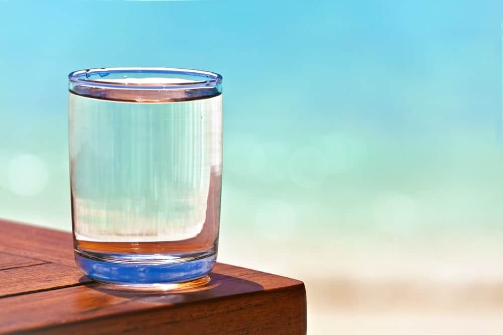 Water intake is important for losing 40 pounds