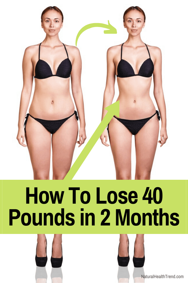 11 Proven Tips to Lose 40 Pounds in 2 Months (With Images)