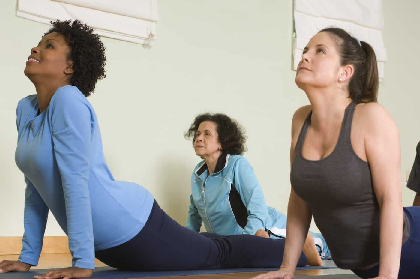 Yoga reduces stress and helps build your body's strength, flexibility, and endurance.